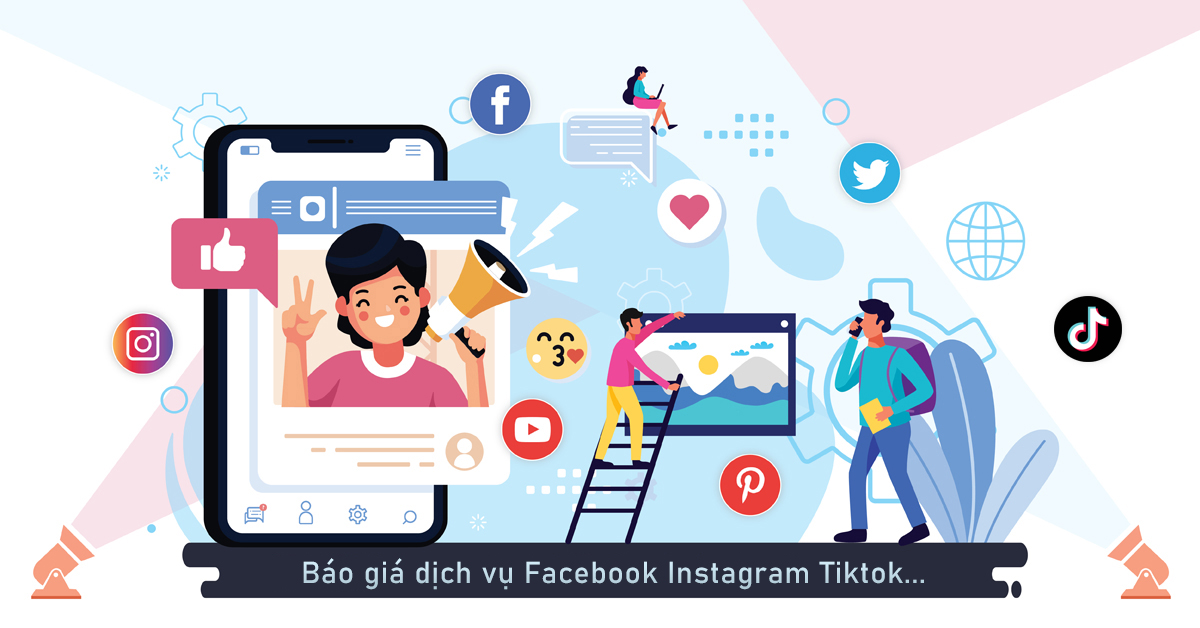 Seeding Facebook Instagram Tiktok Youtube